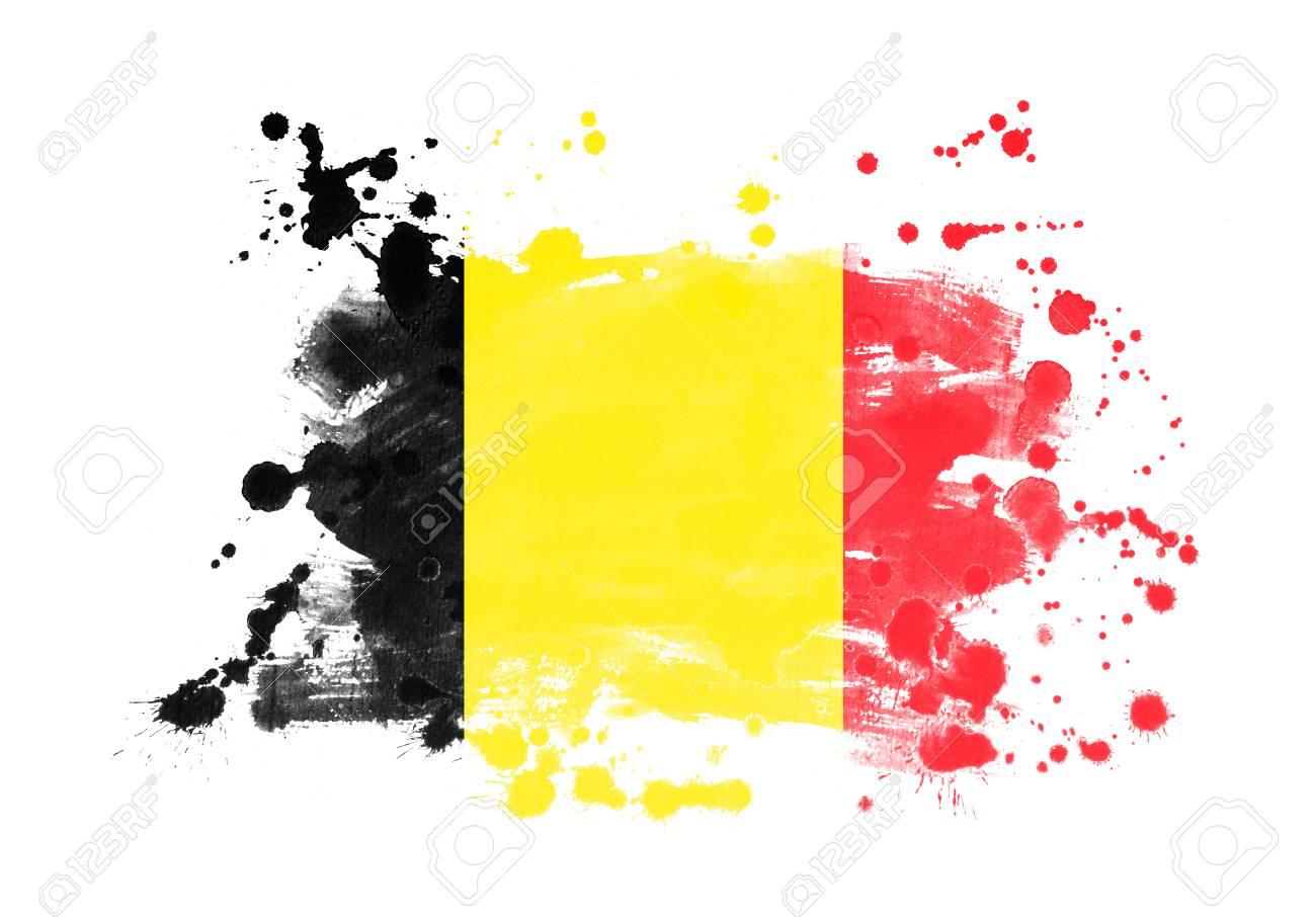 پرچم بلژیک