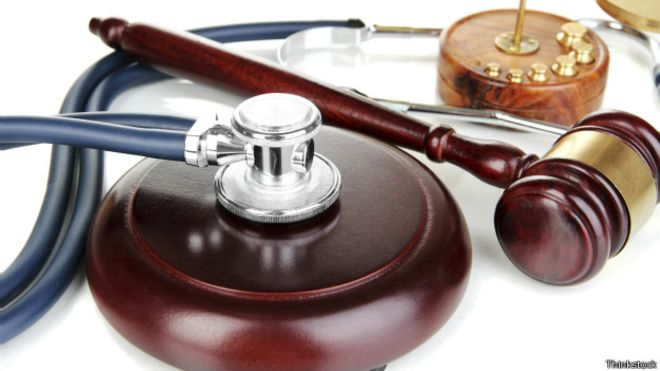 مسئولیت پزشک در جبران خسارت